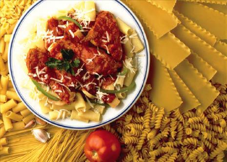 pasta dinner Gioacchino's Pizza & Restaurant bellwood IL
