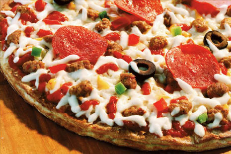 Pile on the toppings with a specialty pizza from Giovannas