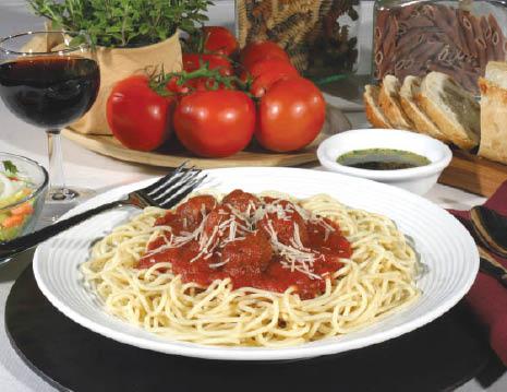 Freshly prepared homemade pasta dishes - Italian family recipes