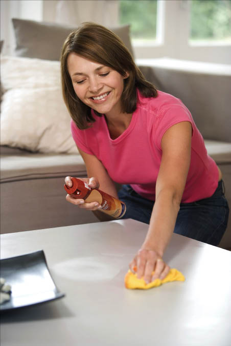 Interior home cleaning by English Maids