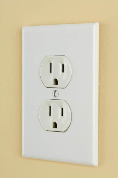 Update your home's electrical outlets; Tipping Hat in Denver