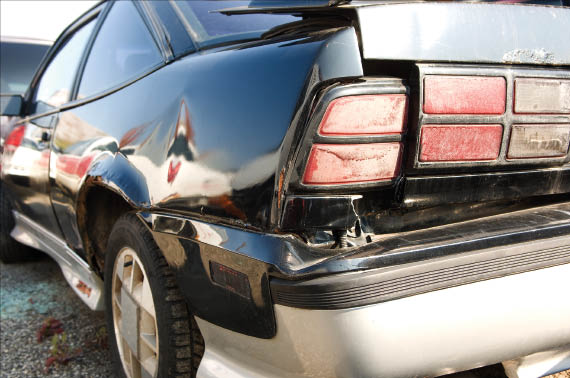 loose car bumper repair by Master Paint and Body Shop in Oklahoma City, OK