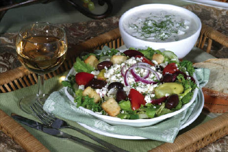 Al Pacino Cafe in pikesville, md, greek salad