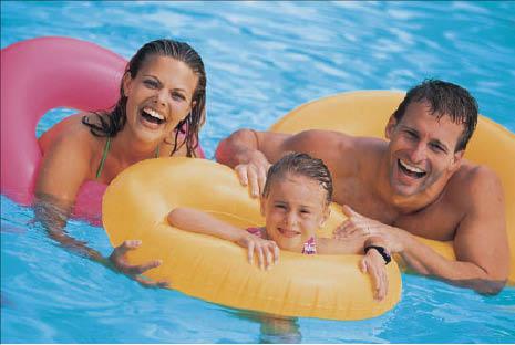 Family pool recreation