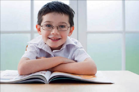 photo of child with glasses from 20/20 Vision of Rochester Hills, MI