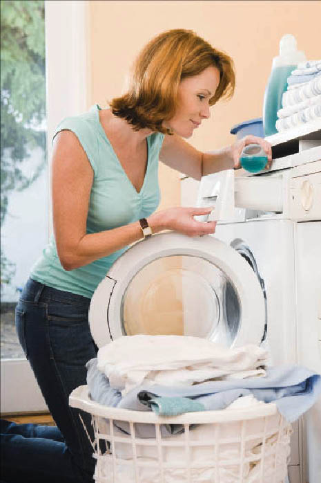We can often fix washers and dryers with replacement parts