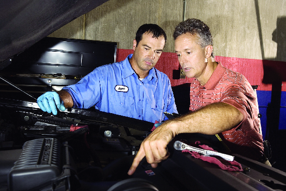 Midway Transmission mechanics take the time to explain to our customers what is going on with their car and what services are recommended