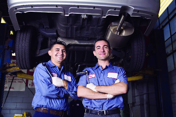 Midas Auto Service Center in Butler PA car mechanic, certified auto technician