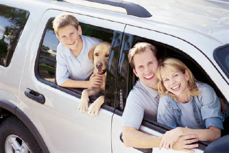 Bring your family van in for an oil change.