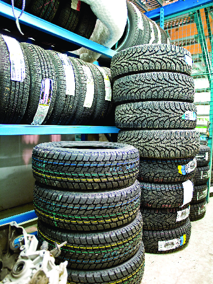 Midas has brand name tires for sale at discount tire prices