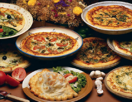 Pizza, Dinner, Italian, Food