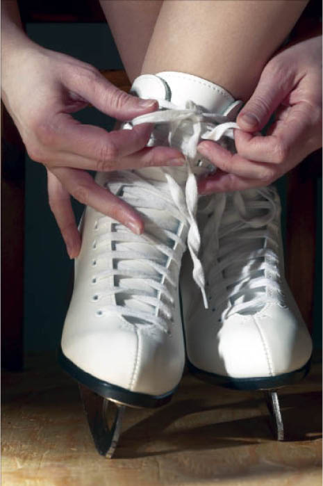 Lace up new ice skates before your performance in Buffalo Grove, IL.