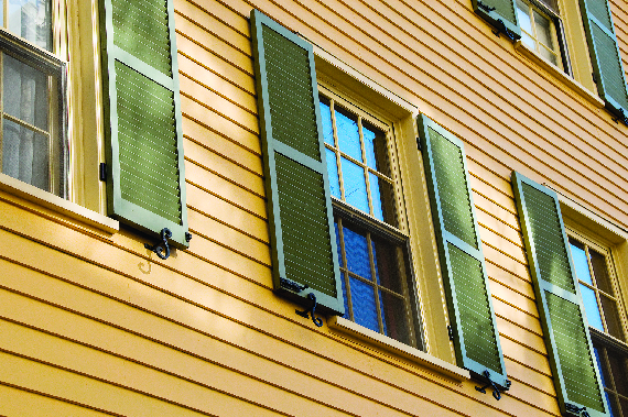 Exterior siding comes in a wide range of materials