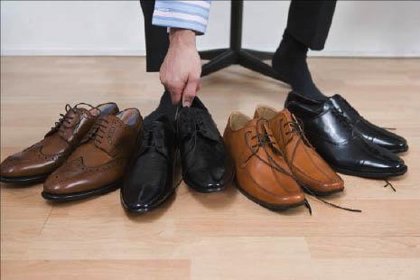 Men's stylish dress shoes at Fritzy Feet