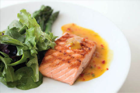 salmon dishes kings crab shack