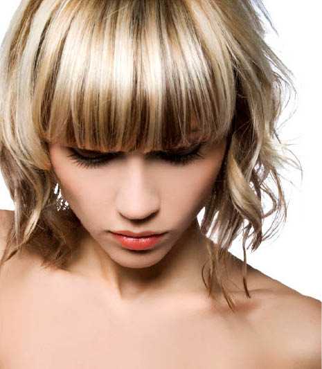Beautiful haircut and hairstyle from Salon Orange