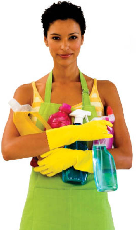 Maria's Cleaning Service uses 100% organic cleaning products in your home and office.