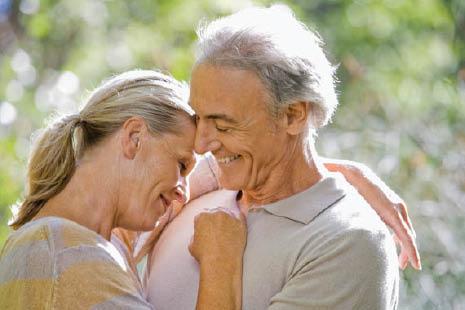 healthy and happy seniors