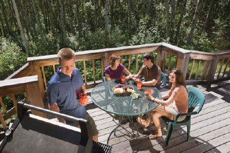 A new deck makes the perfect place for familiy to gather