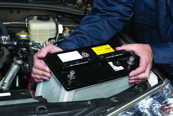 Midas Auto Service sells car battery and truck battery