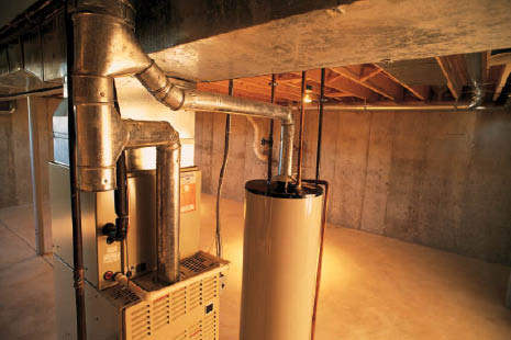 Hot water heater installation, repair and service by Tipping Hat