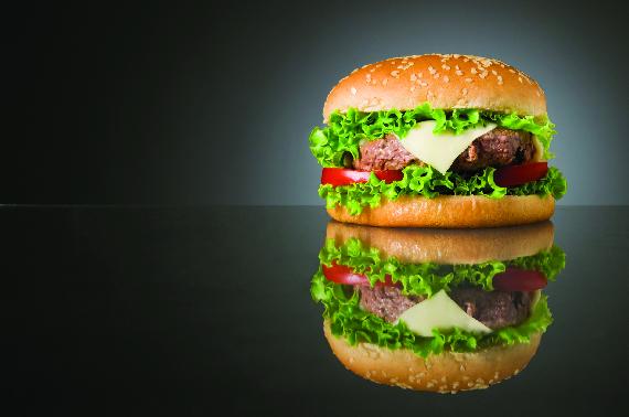 Overstuffed Juicy Burger