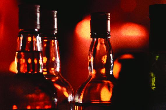 liquor, vodka, beer, wine