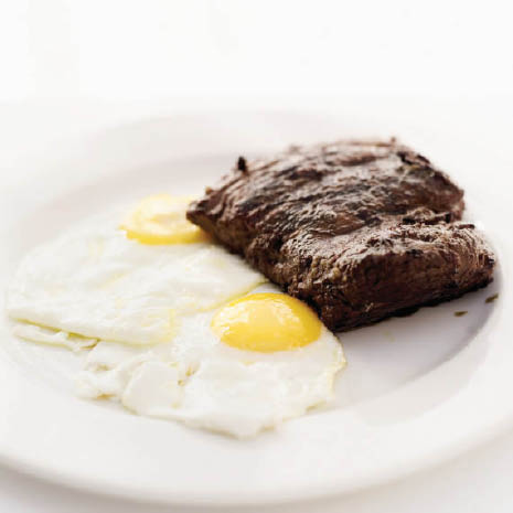 King Skirt Steak and Eggs - Served all day