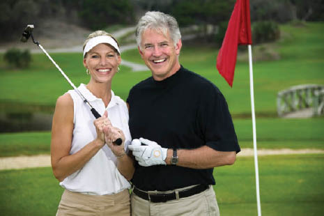 Enjoy the links with a couple of couples