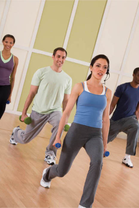 fitness class personal trainer