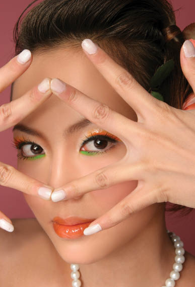 Manicure at Glamour Nail Salon of Matawan