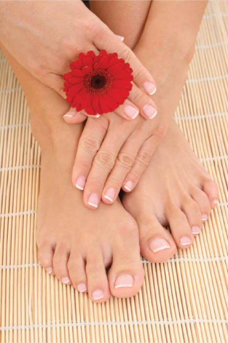 Blue Sky Lounge Spa and Salon manicures and pedicures