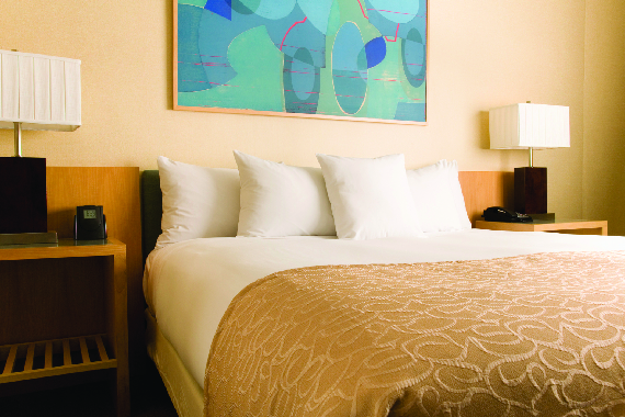 We can dry clean bedspreads, duvet covers, and comforters; San Diego laundry service