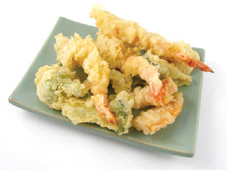 Tempura shrimp and veggies at Tokyo Steakhouse