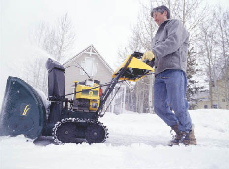 snow removal, mulch, mowing