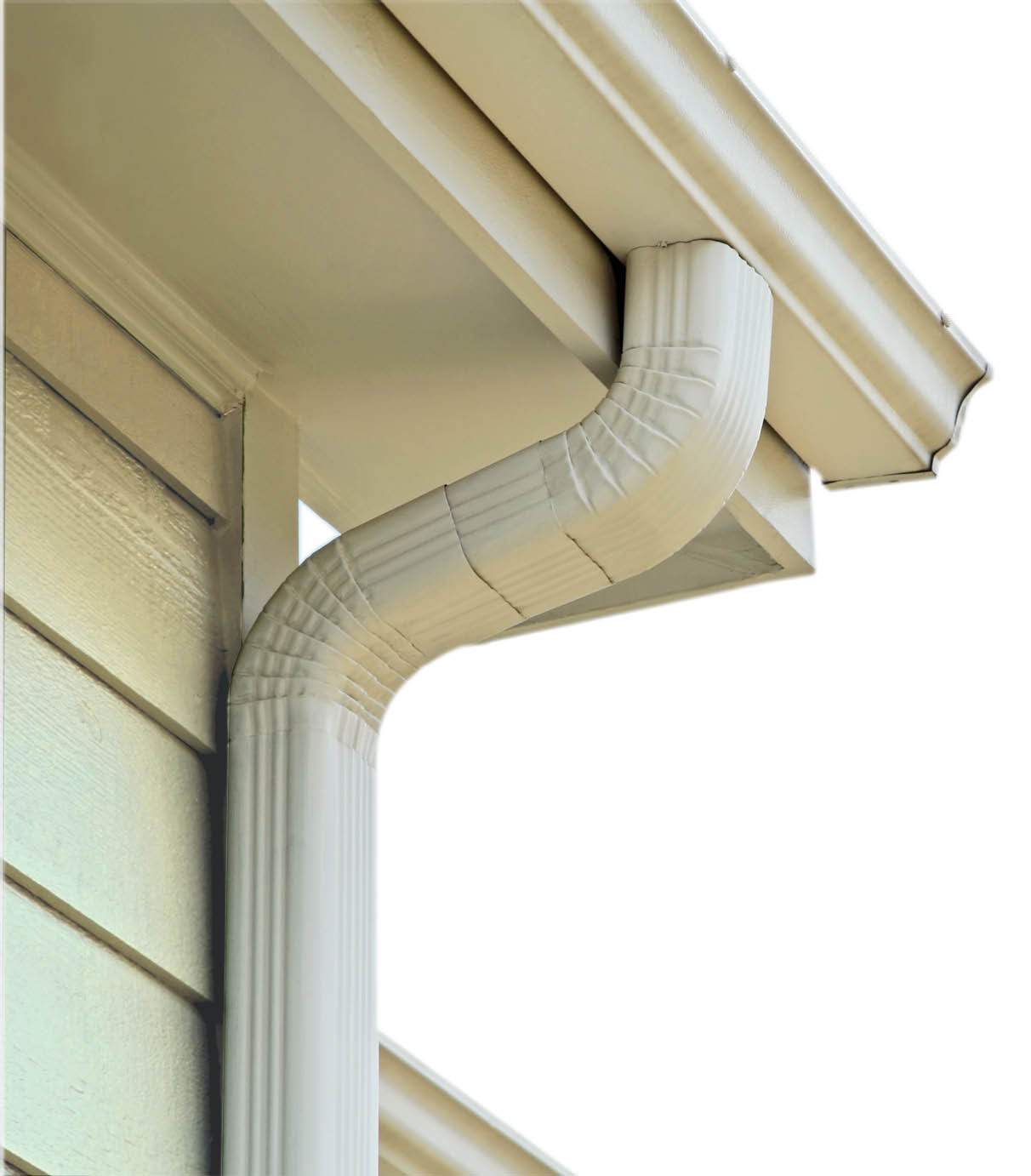 guttering in kansas city, gutters in kansas city, aluminum guttering, gutter water damage, leaks and seams, enamel baked finishing gutters, rust proof gutters, heavy gauge spouts and guttering, proguard KayCan, EZ lock gutter guard, leaf protection