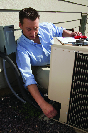 Qualified technicians from Coachella Valley Plumbing, Heating & Air can install a new whole house air conditioner