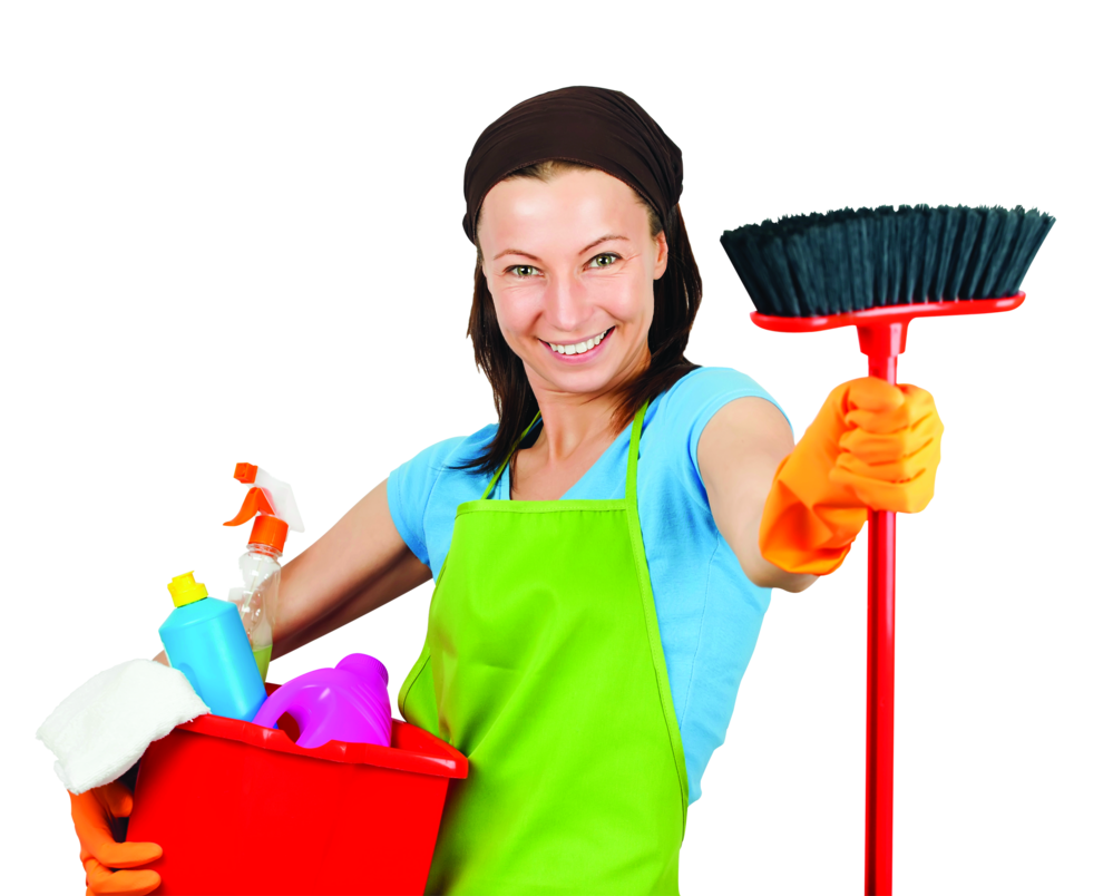 Housekeeping equipment from Huggins Cleaning Service