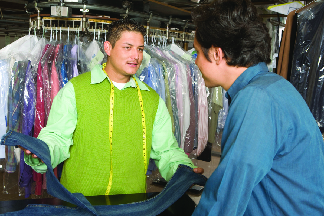 Call Robertson Cleaners today to schedule your next dry cleaning pickup and drop off.