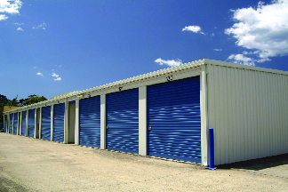 Storage houses that can be accessed directly outside near Wallingford, CT