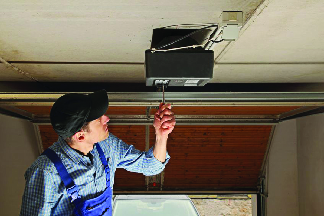 Wine Country Garage Doors replaces broken springs and installs garage door opener near Petaluma, CA