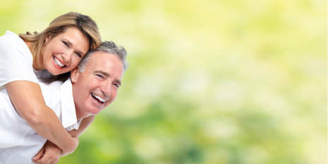 photo of smiling couple, patients of Shiva Hogugi, DDS, PLLC in West Bloomfield Township, MI