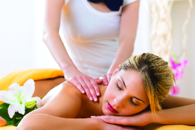 Get a deep tissue massage near Spackenkill