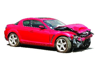 car, damage, repair