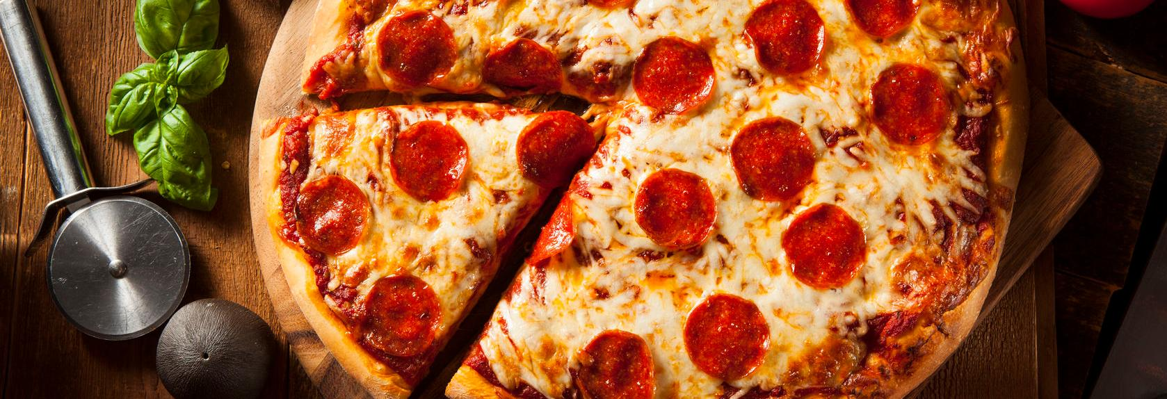 Tony's Pizza banner