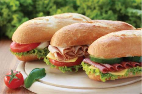 sub, sandwich, party platter