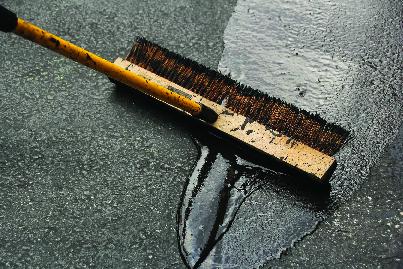 driveway, crack repair, sealcoat