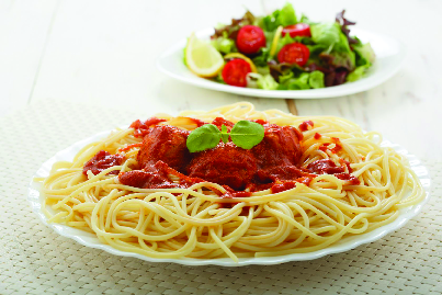 Get spaghetti and other pasta dishes in Poughkeepsie.