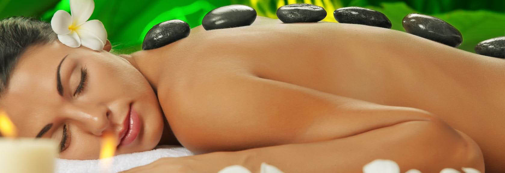 Hot Stone Massage Soothes Aching Muscles banner