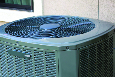 Energy efficient air conditioning unit installed in Indio